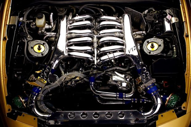 Top Secret Toyota Supra with a twin-turbo 1GZ-FE V12