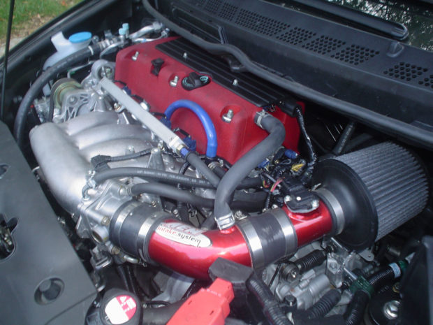 2007 Honda Civic with a K20A inline-four