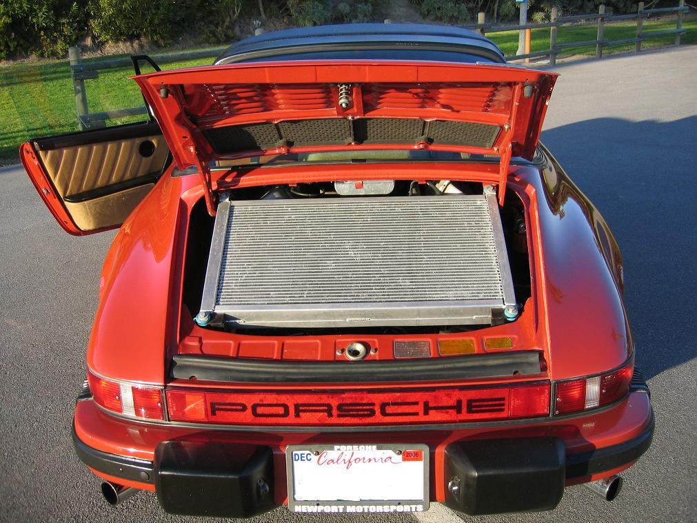 Porsche 911 with a 500 ci Cadillac V8