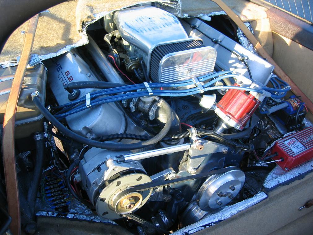 Porsche With A Ci Cadillac V on 1970 Cadillac Engine 500