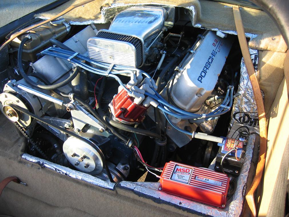 Porsche With A Ci Cadillac V on Cadillac 500 V8 Swap