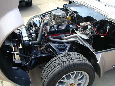 Porsche 356 With Bowtie Power Engine Swap Depot