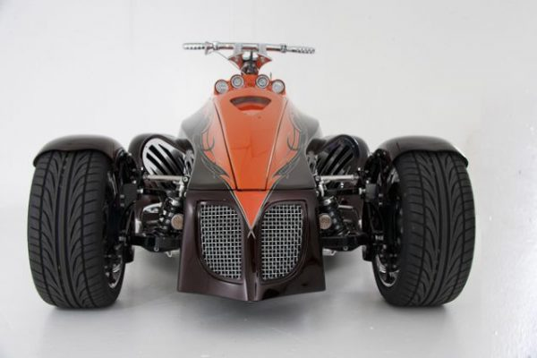 Quadracycle with a 383 ci Chevy small-block V8