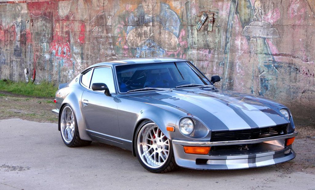 Mark Rolston Datsun 240Z with RB26DETT
