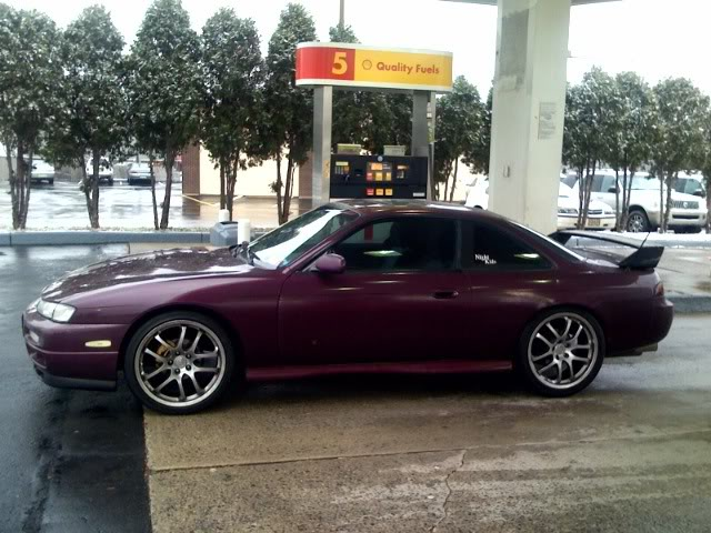 Nissan 240SX with a 2JZ-GTE