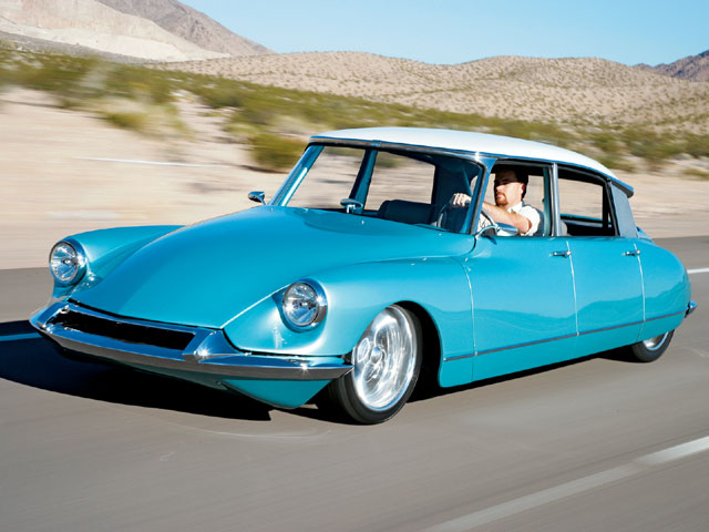 1966 Citroen with a LS1 V8