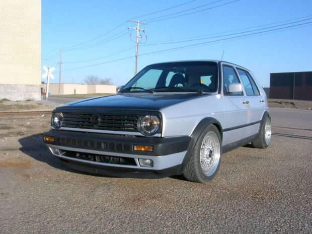 1991 Golf with a Cadillac Northstar V8