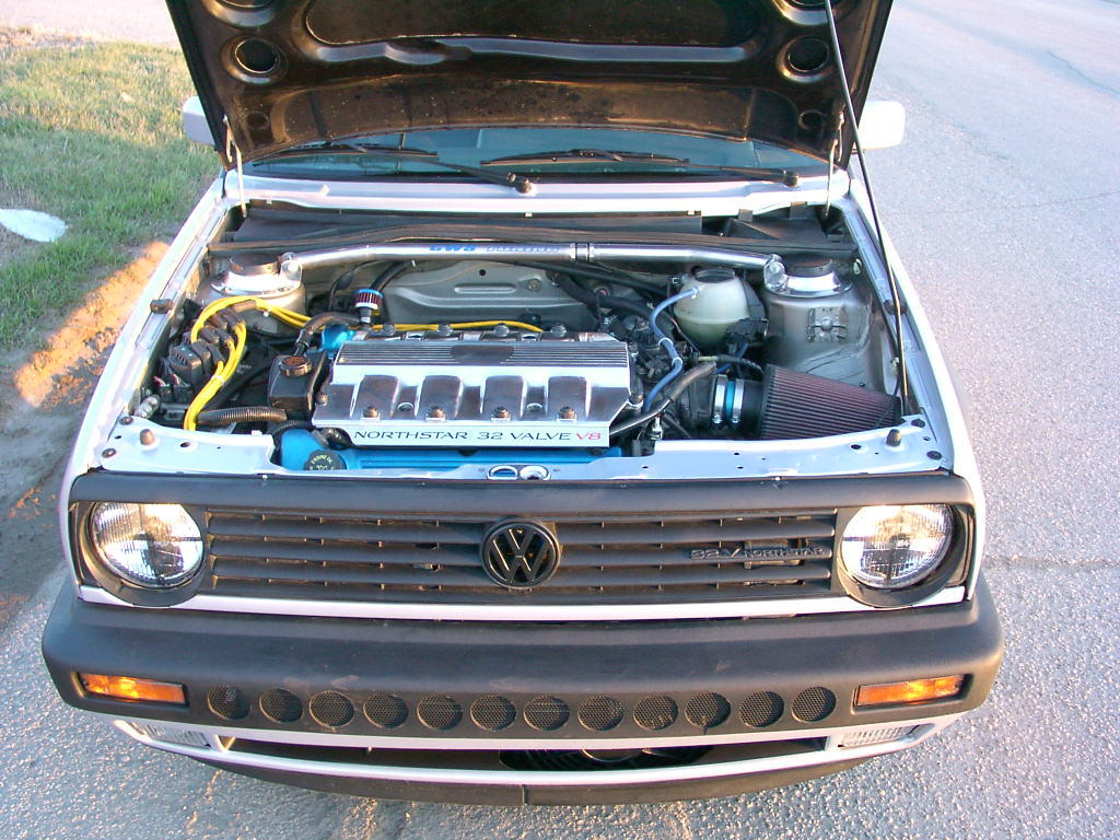 1991 Golf with a Cadillac V8 – Engine Swap Depot