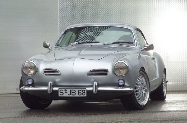 Karmann Ghia with a Porsche 993 flat-six