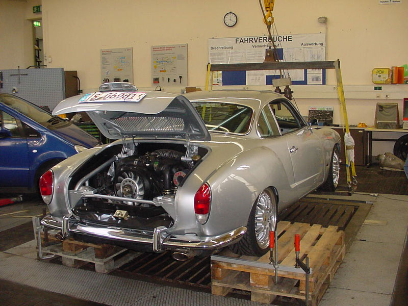 Karmann Ghia with a Porsche 993 Engine – Engine Swap Depot