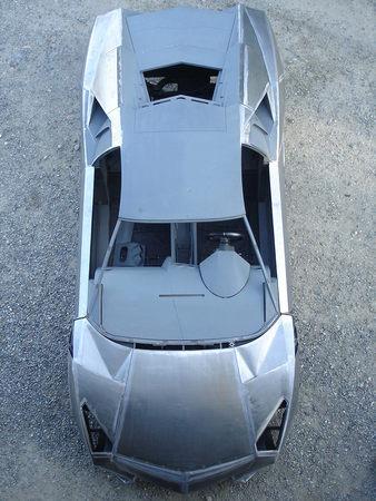 Fiero with Lambo body and Chevy V8
