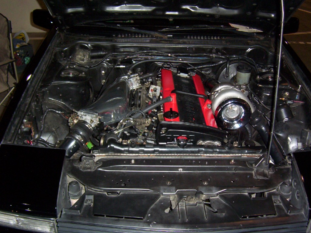 Colin Masterson's Nissan S12 with a RB20DET