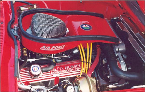 Alfa Romeo with Mustang V8