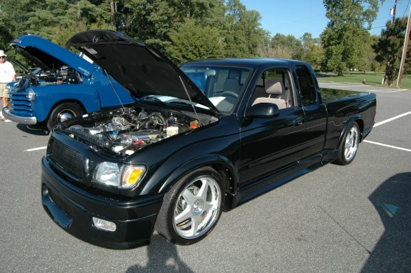 2003 Toyota Tacoma S-Runner with a 2JZ-GTE inline-six