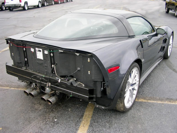 wrecked 2009 zr1 for sale on ebay engine swap depot. Cars Review. Best American Auto & Cars Review