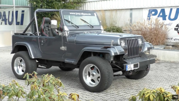 1991 Jeep Wrangler with a twin-turbo Viper V10