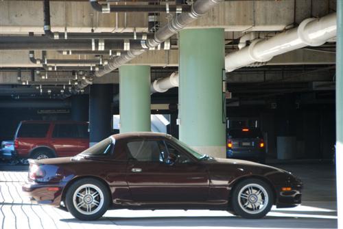 1991 Mazda Miata with a LS1 V8