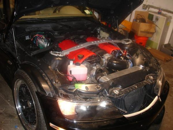 1996 BMW Z3 with a LS1 V8