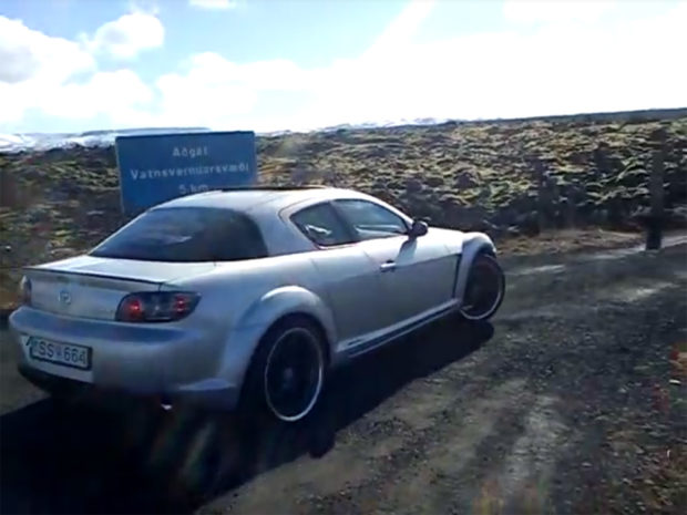Mazda RX-8 with a LS1 V8