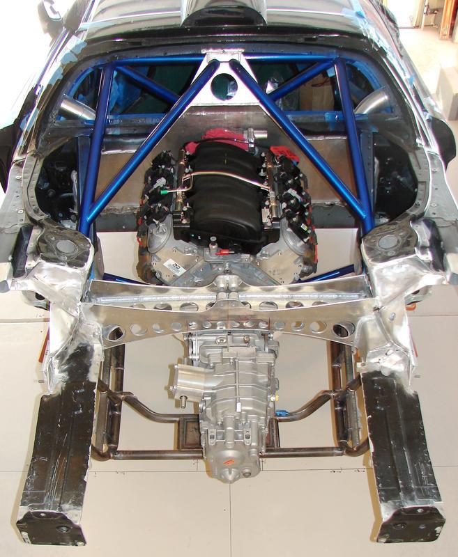 Honda NSX With A LS7 V8