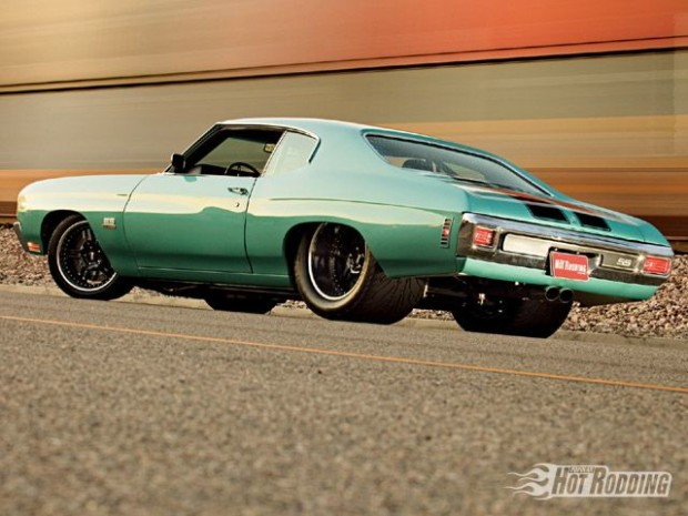 1970 Chevelle with a Twin Turbo Duramax Diesel