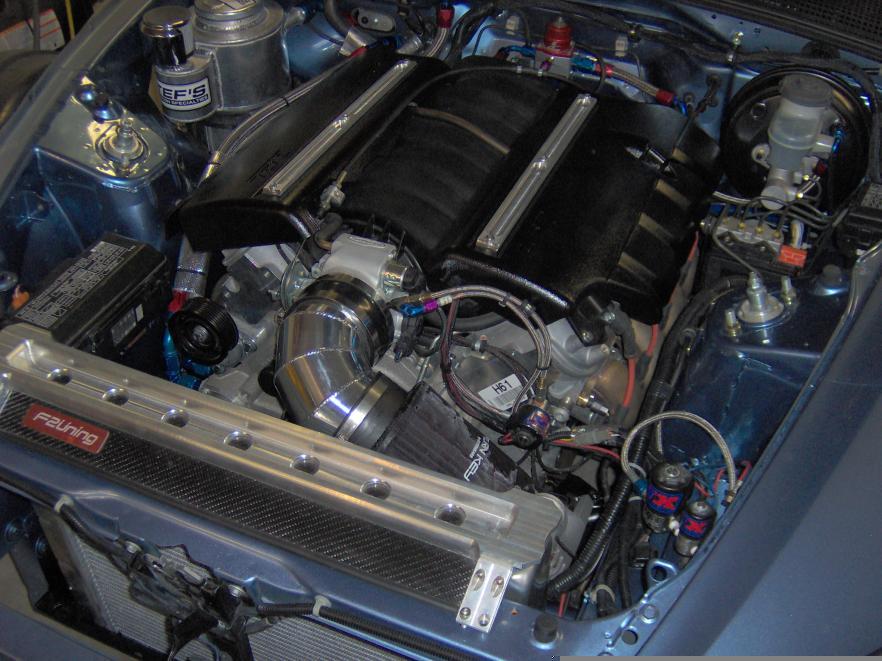 ls powered honda  engine swap depot