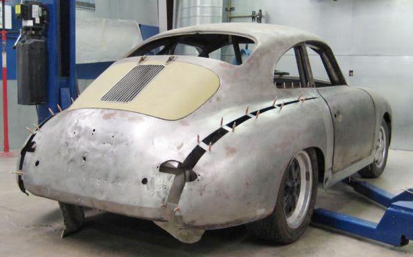 1958 Porsche 356 with an Audi V8