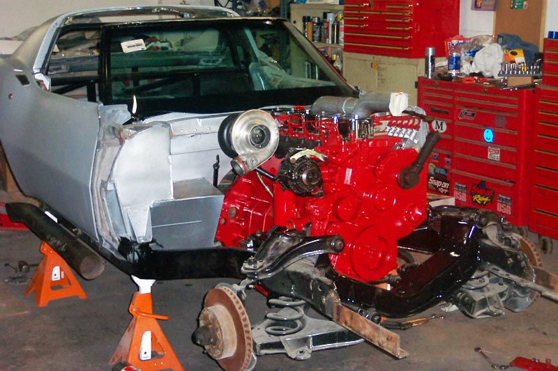 1968 Corvette With A Diesel Inline Six Engine Swap Depot