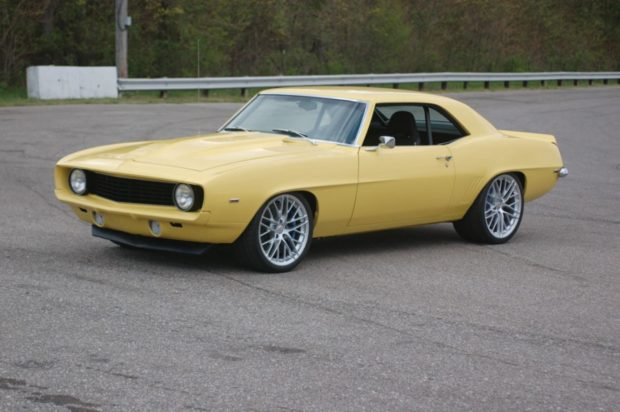 1969 Camaro with a supercharged LS9 V8