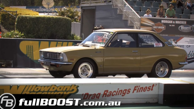 Toyota Corolla with a Turbo 2JZ