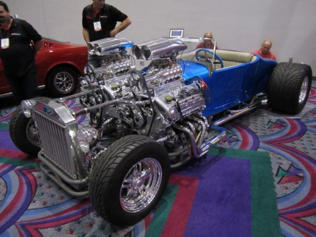 1927 Model T Roadster with twin V8 engines