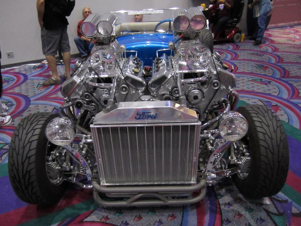 Twin Motor 1927 Model T Roadster Engine Swap Depot