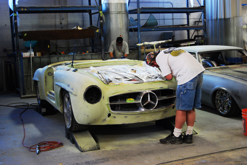 Outstanding 1961 Mercedes 190Sl With A Twin Turbo V12 Engine Swap Depot Wiring Digital Resources Millslowmaporg