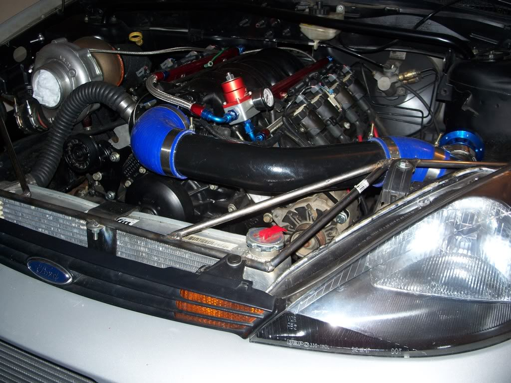 Ford Focus With A Turbo 53 L V8 Engine Swap Depot Ls Conversion Wiring Harness