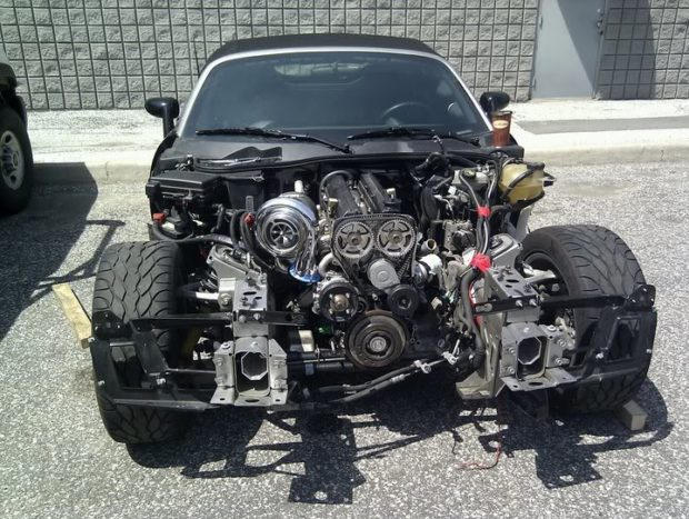 Pontiac Solstice with a 2JZ