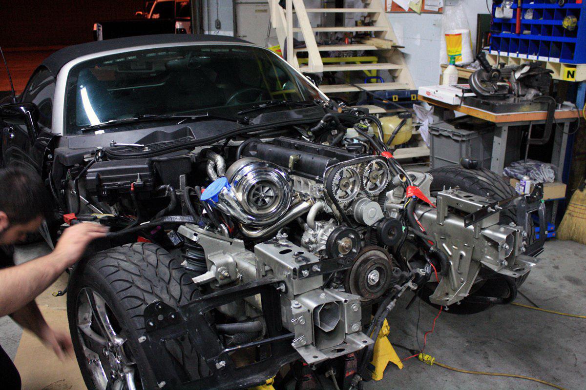 2jz Powered Pontiac Solstice Engine Swap Depot