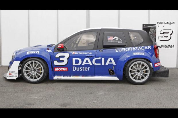 Dacia Duster with a VR38DETT V6