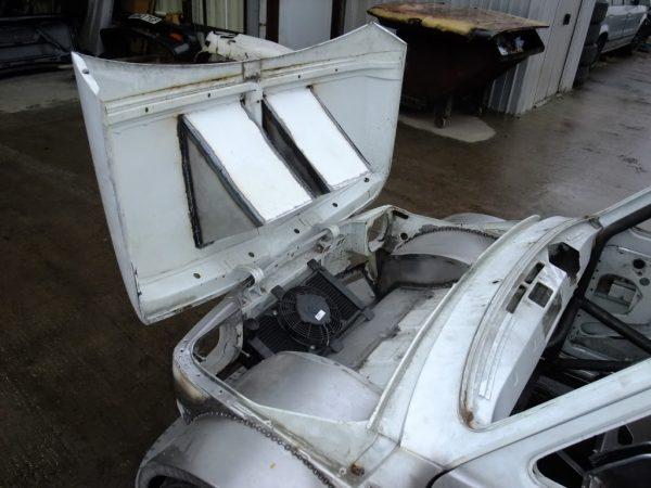 Fiat 126 with a Honda Blackbird motorcycle engine