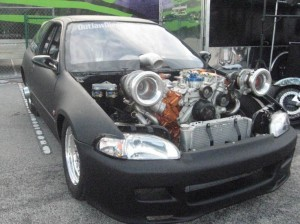 twin turbo powerstroke diesel honda civic