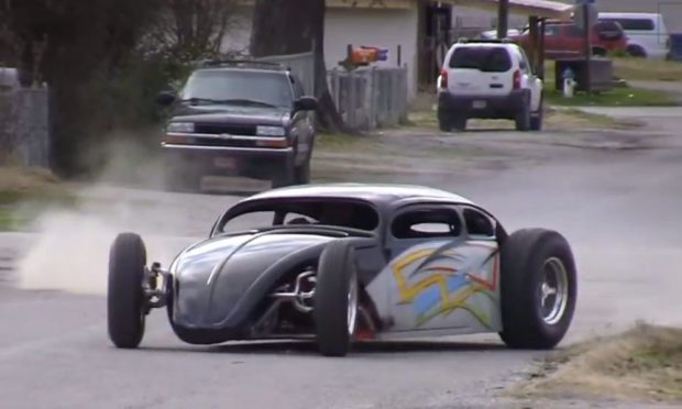 Custom Beetle with GSXR Motorcycle Engine