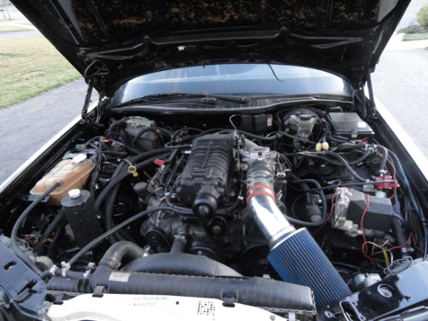 Mercedes Sc Ls on Lincoln Mark Viii Engine Swap