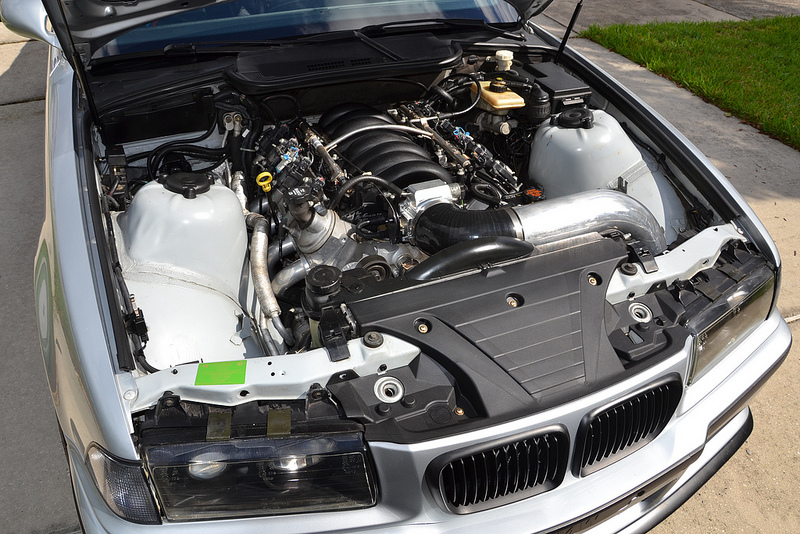 1997 BMW E36 M3 with a LS3
