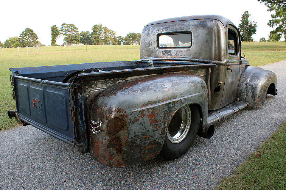 For Sale 1947 Ford Truck Rat Rod With 454 Big Block