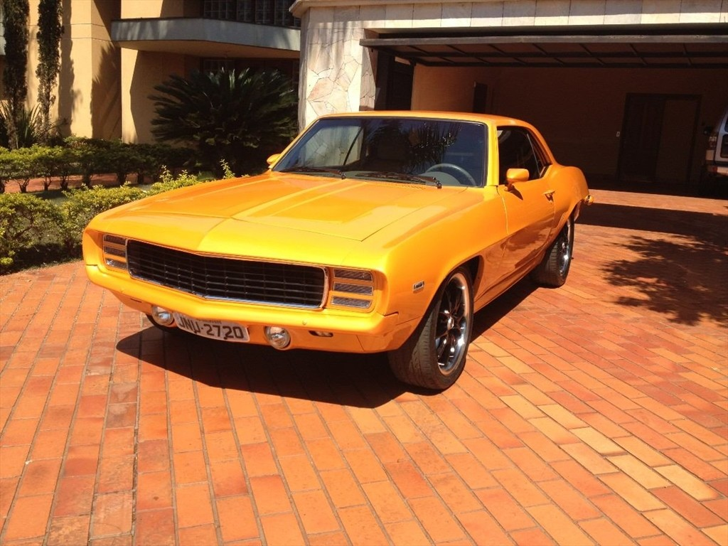 1969 Camaro with a 1JZ and Hilux Interior