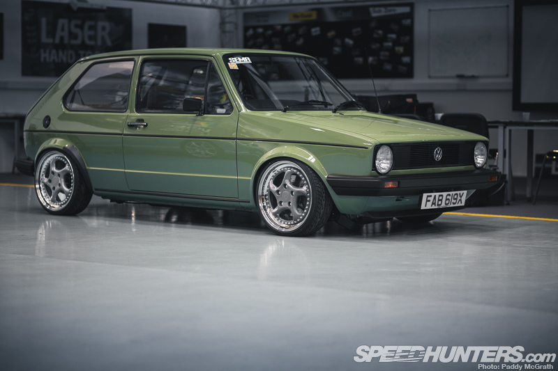 Volkswagen Golf MK1 Powered by Audi A3 Diesel
