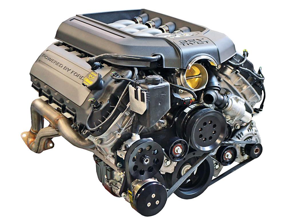 Coyote motor horsepower