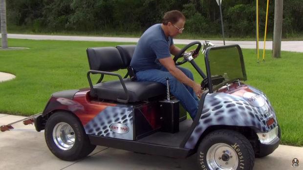 Hayabusa Powered Golf Cart