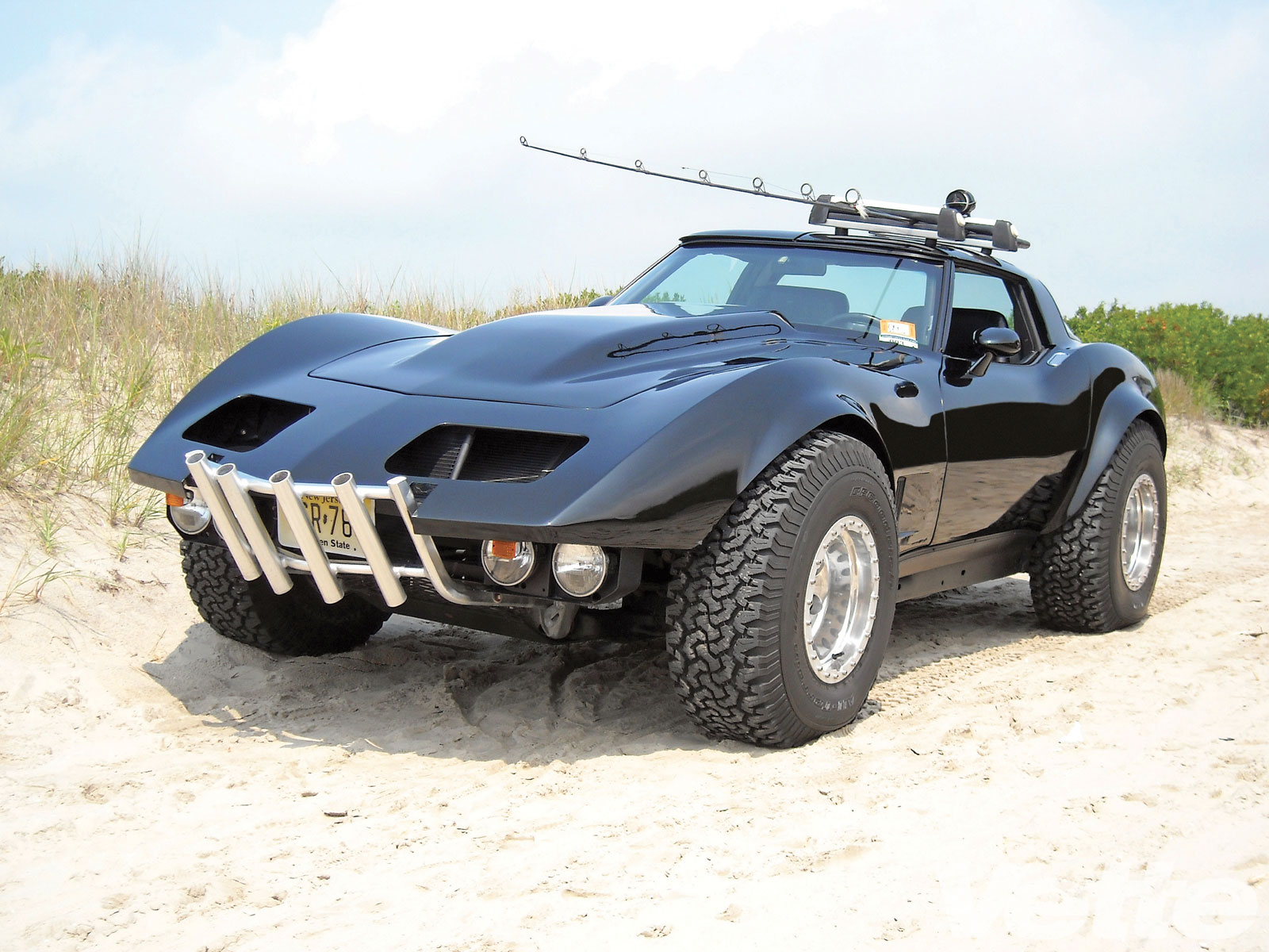 4WD Corvette Created for Fishing in Mad Max Times – Engine Swap Depot