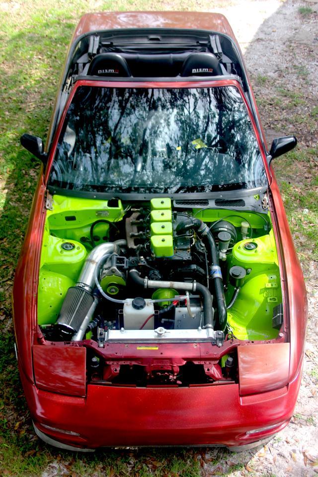 Nissan 240SX with a Diesel Inline Four ndash Engine Swap Depot