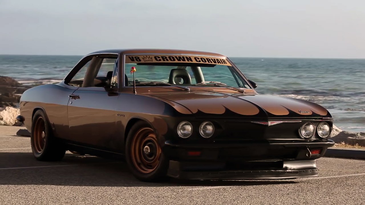 Corvair with a V8